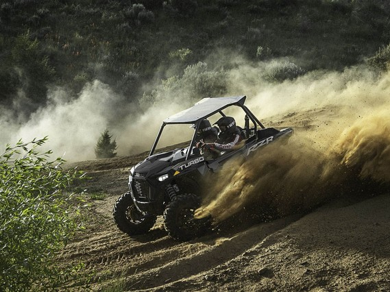 Мотовездеход RZR XP Turbo Stealth Black
