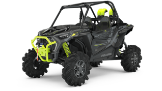 Мотовездеход RZR XP 1000 High Lifter Stealth Gray