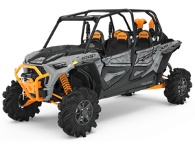 RZR XP 4 1000 HL - Ghost Gray