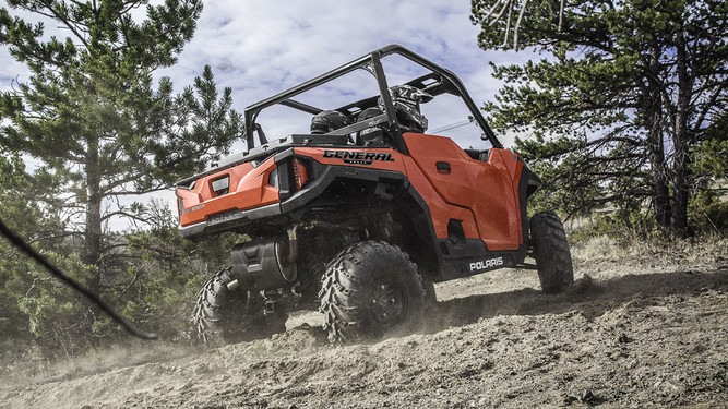 Мотовездеход POLARIS GENERAL 1000 EPS Indy Red
