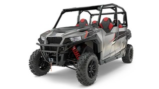 Мотовездеход POLARIS GENERAL 4 1000 EPS Silver Pearl
